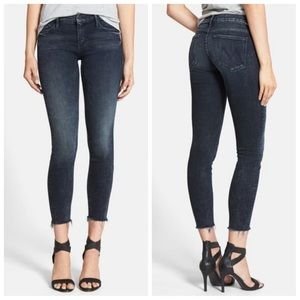 MOTHER-The Looker Ankle Fray Skinny Jeans (27)